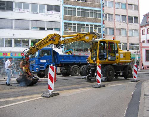 Bauunternehmen Mainz bahn express magazin für werkbahnfreunde